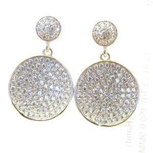 Sterling Silver 925 Drop Earrings