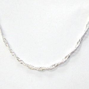 Sterling Silver 925 Disco Link Anklet