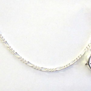 Sterling Silver 925 Charm with Double Dolphin Charm Anklet